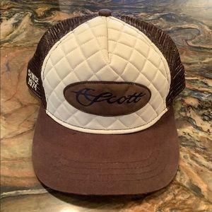 Scott high performance fly rods adjustable hat